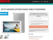 Cosmopolitan Gewinnspiel Medion Lifetag Tablet