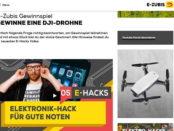 E-Zubis Gewinnspiel DJI-Spark Drohne