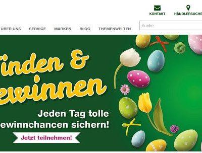 ElektronikPartner Ostergewinnspiel täglich Sachpreise