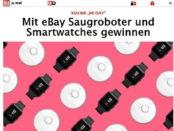 Gewinnspiel Bild.de und eBay Saugroboter