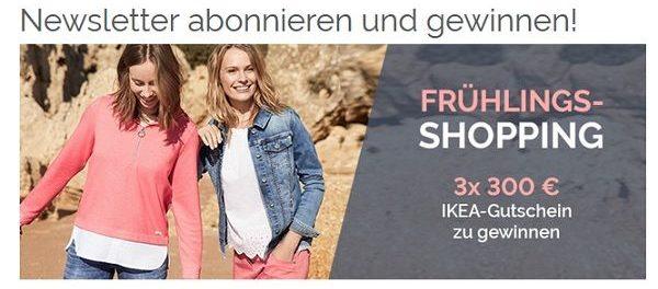 Gewinnspiel Cecil Onlineshop 300 Euro Ikea Gutscheine