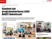 Lego Boost Roboticset Gewinnspiel bei Smart Wohnen
