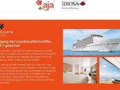 Luxuskreuzfahrtschiff Gewinnspiel aja Europa 2