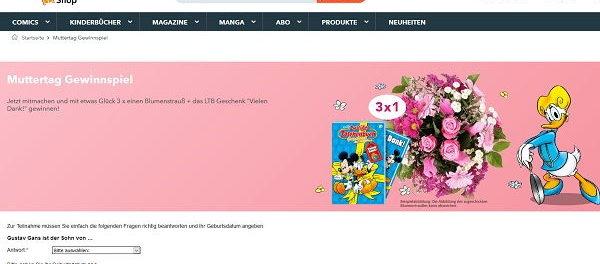 Muttertags-Gewinnspiel Egmont Verlag