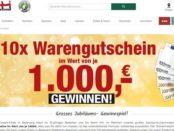 Opti-Wohnwelt Gewinnspiel 10x 1.000 Euro Möbelgutschein