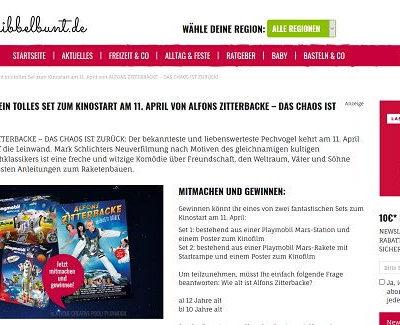 Playmobil Gewinnspiel Mars Station Set kribbelbunt.de