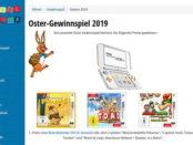 Rätselstunde Oster-Gewinnspiel New Nintendo 2DS Spielkonsole