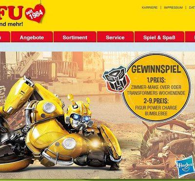 ROFU Gewinnspiel Transformers Wochenende oder Kinderzimmer Umbau