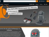 Saturn Gewinnspiel des Monats Massagegeräte