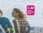 Scholl Fusspflege Gewinnspiel wöchentlich 500 Euro Urlaubsgeld