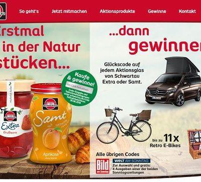 Schwartau Gewinnspiel Mercedes-Benz Marco Polo Camper