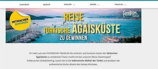 Türkei Reise Gewinnspiel Foodboom 2019