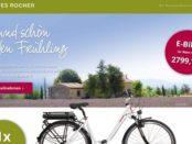 Yves Rocher Gewinnspiel Telefunken Alu E-Bike gewinnen