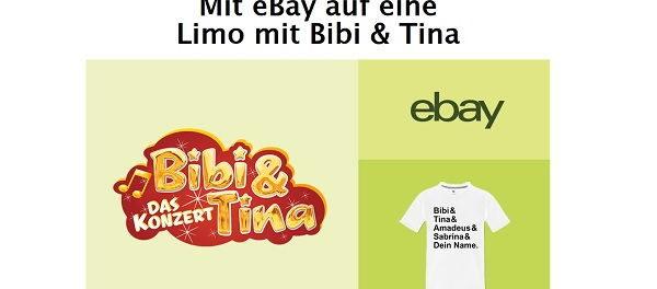eBay und Bild.de Gewinnspiel Bibi und Tina Konzert mit Reise