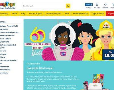 myToys Barbie Gewinnspiel Fanboxen Geburtstagsaktion