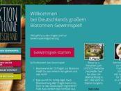 Aktion Biotonne Gewinnspiel Reise und Sachpreise