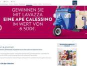 Ape Calessino Gewinnspiel Karstadt und Lavazza