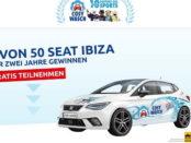 Auto-Gewinnspiel Cosy Wasch 50 Seat Ibiza