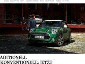 Auto-Gewinnspiel Mini Cooper 6 Monate kostenlos fahren