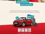 Auto Gewinnspiel Rotkäppchen Mini Cabrio Verlosung