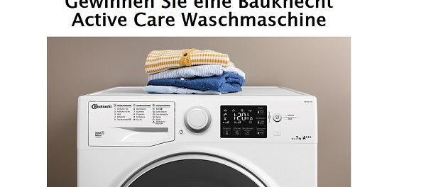 Bauknecht Waschmaschine Gewinnspiel Bild.de
