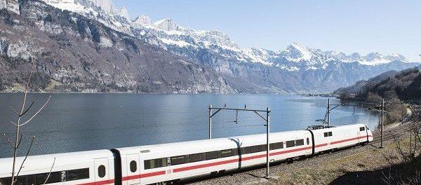 Berge und Bahn