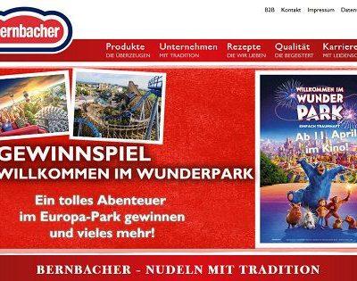 Bernbacher Gewinnspiele Europa Park Familienaufenthalt mit Übernachtung