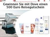 Dove und Bild Gewinnspiel 500 Euro Reisegutschein
