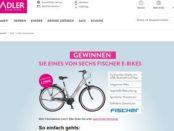 E-Bike Gewinnspiel Adler Mode 6 Fischer Elektrofahrräder