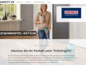 Frühlings-Gewinnspiel Parkett.de und Leifheit 2019
