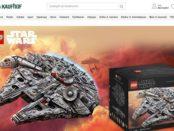 Galeria Kaufhof Gewinnspiel Lego Star Wars Millennium Falcon Wert 799,99€