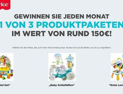 Gewinnspiel Mattel Fisher-Price Baby Spielzeug