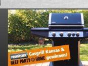 Globus Baumarkt Gewinnspiel Gasgrill und Beef Party