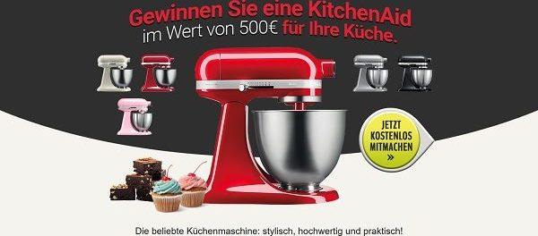 Küchenmaschinen Gewinnspiel KitchenAid Rührmaschine