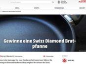Koch Mit Gewinnspiel Swiss Diamond Bratpfannen