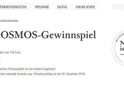 Kosmos Verlag Gewinnspiel 10 Ratgeber Buchpakete