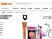 Müller Gewinnspiele Fahrrad und Artdeco Kosmetik