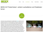 MIXX Magazin Gewinnspiel Berg GO Pedal Gokarts