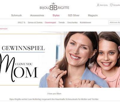 Muttertags-Gewinnspiel Bijou Brigitte Schmuck gewinnen