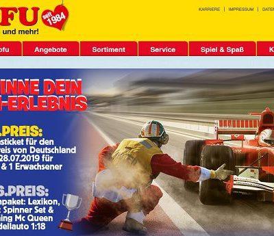 ROFU Gewinnspiel Formel 1 Tickets Großer Preis von Deutschland