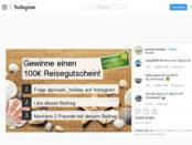 Reisegutschein Gewinnspiel Private Holiday 2019