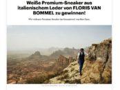 Rolling Stone Magazin Gewinnspiel Floris van Bommel Sneaker
