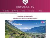 Romance TV Gewinnspiel Südtirol Urlaub gewinnen