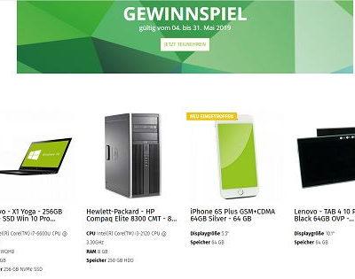 Second IT Store Gewinnspiel Lenovo Notebook oder Apple iPhone