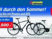 premio Gewinnspiel Fahrräder und Kugelgrill