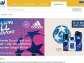 real und adidas Gewinnspiel 100 Champions League Fussbälle