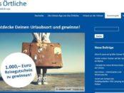 1.000 Euro Reise-Gutschein Gewinnspiel Ostsee-App
