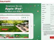 Apple iPad Gewinnspiel hagebaumarkt