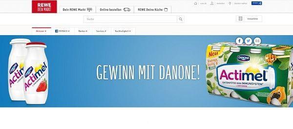 Apple iPhone XR Gewinnspiel REWE und Danone