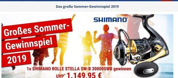 Askari Angelsport Sommer-Gewinnspiel Shimano Stella Rolle Wert 1.149 Euro